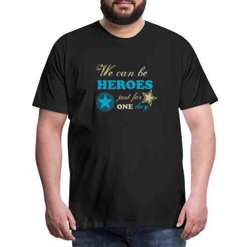 heroes - T-shirt Premium Homme