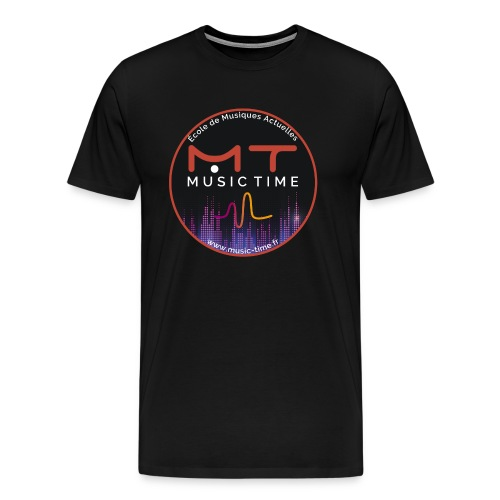 Logo MUSIC TIME 2020 - T-shirt Premium Homme