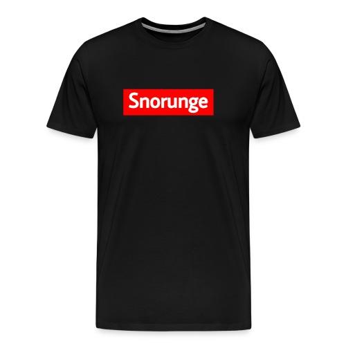 Snorunge 2018 - Premium-T-shirt herr