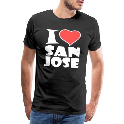 I love San Jose - Männer Premium T-Shirt