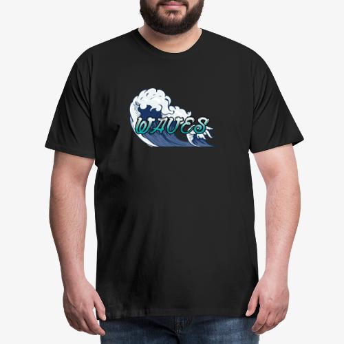Waves - T-shirt Premium Homme