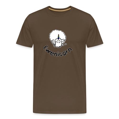 Ewenicorn (black edition black text) - Men's Premium T-Shirt