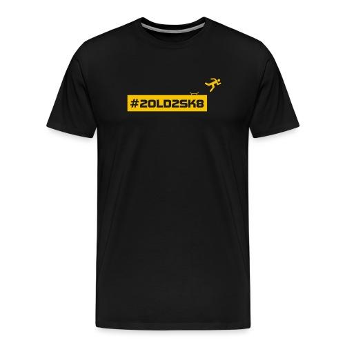 #2old2sk8 yellow - Men's Premium T-Shirt