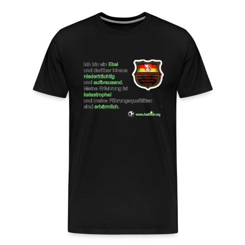 hattrickshirtbarleben96 - Männer Premium T-Shirt