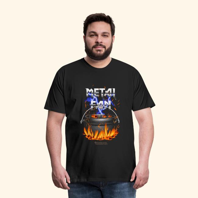Metal Fan | ▶ Visit Dutch Oven T-Shirts