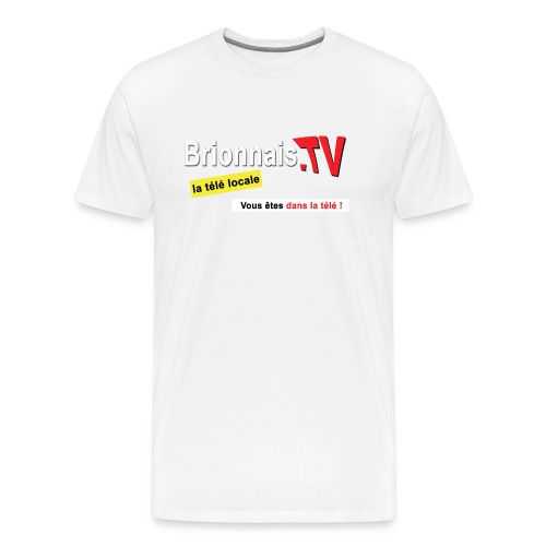 BTV logo shirt dos - T-shirt Premium Homme
