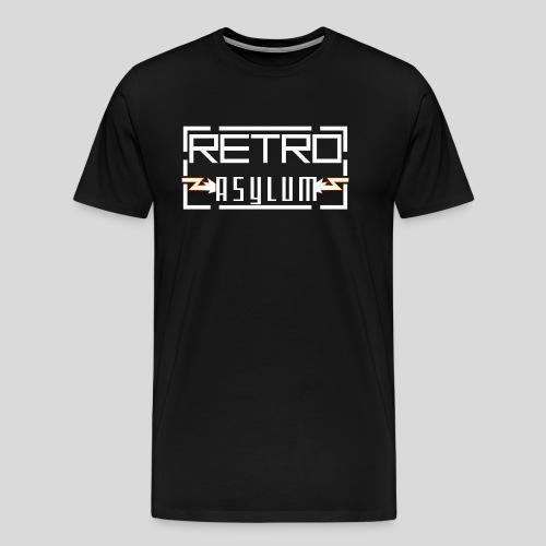 Classic RA logo design - Men's Premium T-Shirt