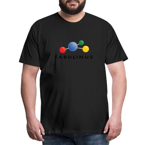Fabulinus Zwart - Mannen Premium T-shirt