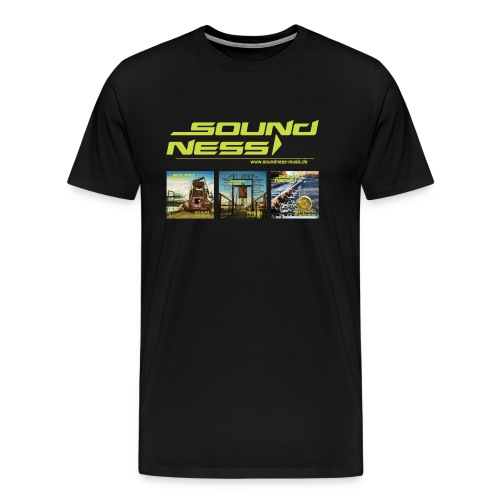 Soundness mit Covers - Männer Premium T-Shirt