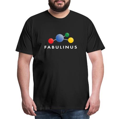 Fabulinus wit - Mannen Premium T-shirt