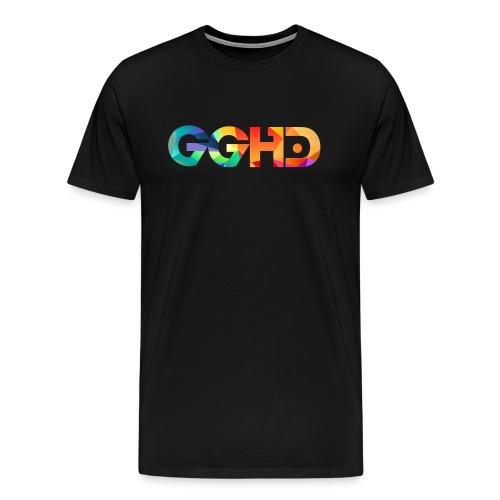 GGHD RAINBOW PNG - Men's Premium T-Shirt