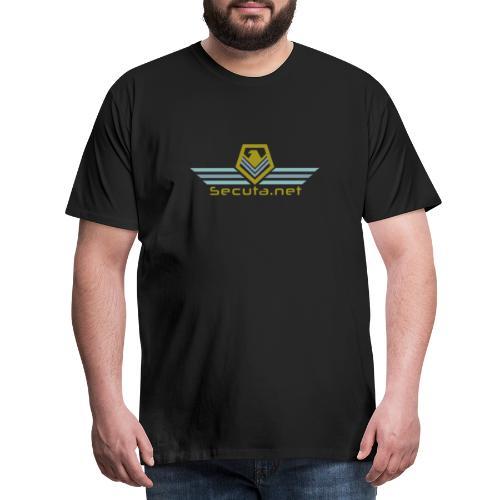 Secuta Logo - Männer Premium T-Shirt