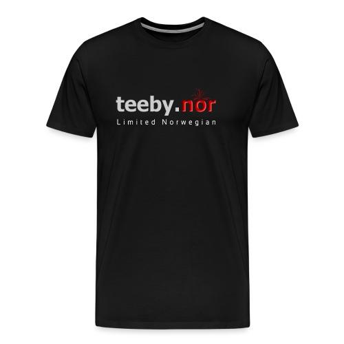 teeby.nor - Premium T-skjorte for menn