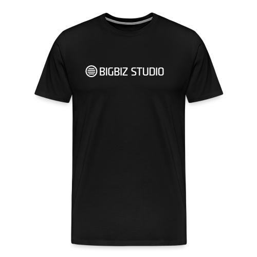 bigbiz-logo-official - Men's Premium T-Shirt