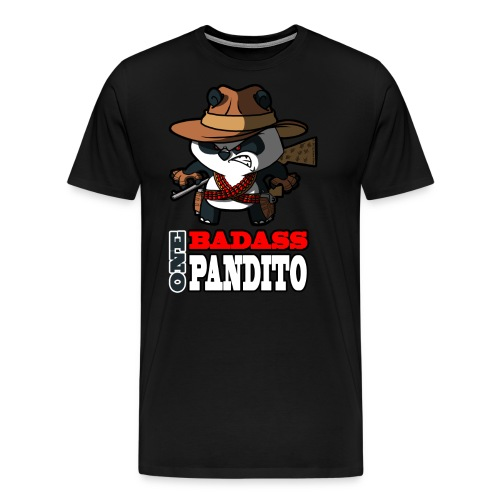 Bad Ass Pandito SiLee Films - Men's Premium T-Shirt