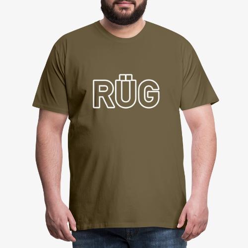 RÜG_140%_Vektor_Outline_ - Männer Premium T-Shirt