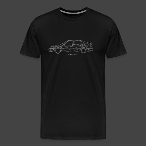Limited Edition 9-3 Wit - Mannen Premium T-shirt