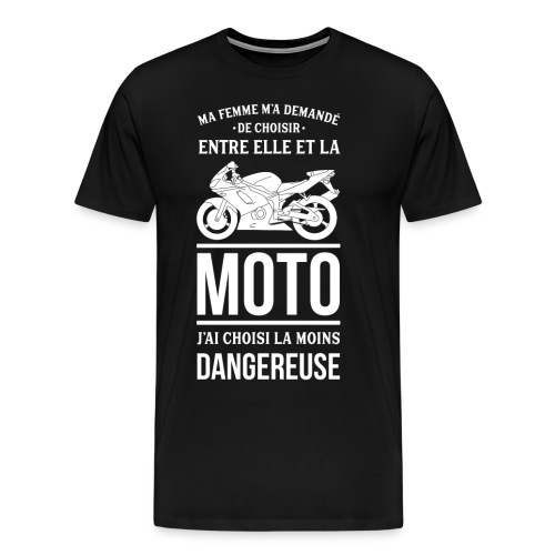 ET TOI QUE CHOISIS TU ? - T-shirt Premium Homme