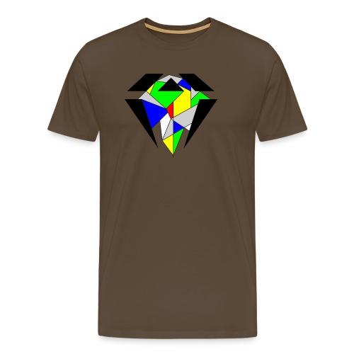 J.O.B. Diamant Colour - Männer Premium T-Shirt