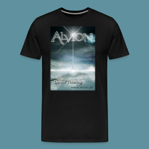 AlvionGesamt2121x3000www png - Männer Premium T-Shirt