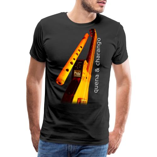 Quena y Charango II - Camiseta premium hombre