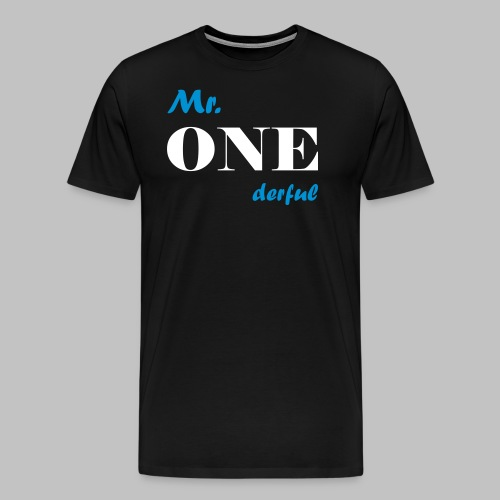 Mr.Onederful - Männer Premium T-Shirt