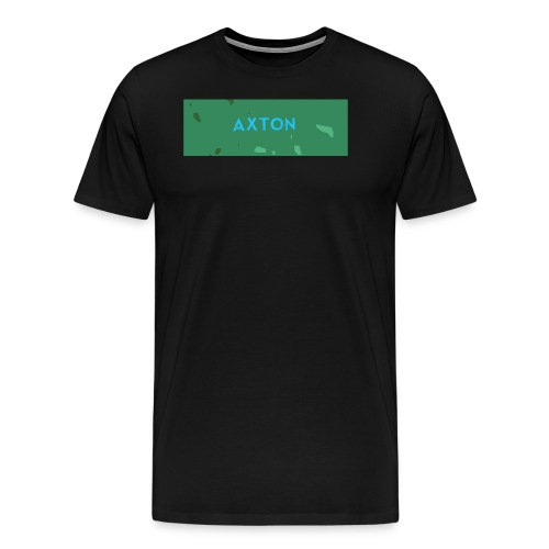 Axton Light camo - Herre premium T-shirt