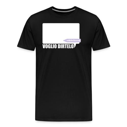 vogliodirtelo2011extended converted - Maglietta Premium da uomo
