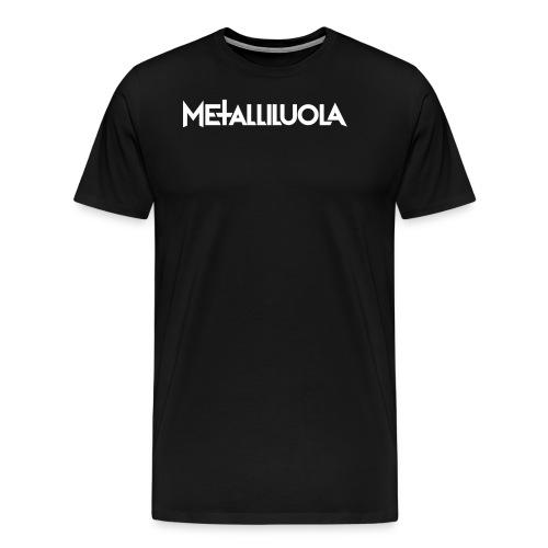 Metalliluola urheiluvaatteita - Miesten premium t-paita
