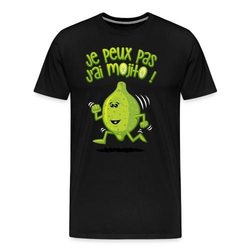 Ich habe mojito - Männer Premium T-Shirt