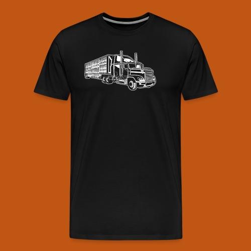 Truck / Lkw 01_weiß - Männer Premium T-Shirt