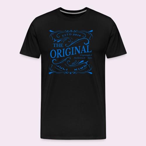 Original Juli Kind 2014. Geburtstagskind in blau - Männer Premium T-Shirt