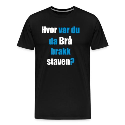 Oddvar Brå - Premium T-skjorte for menn