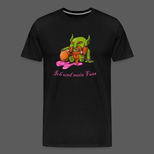 Ich und mein Fass - Männer Premium T-Shirt