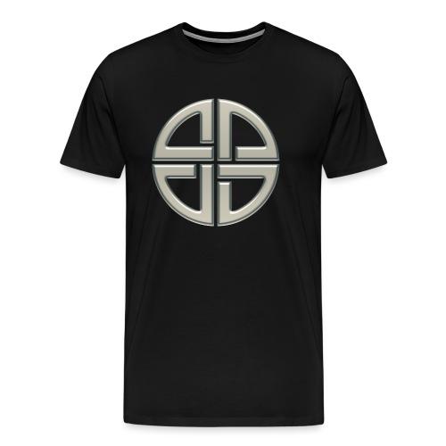Schildknoten, Keltischer Knoten, Thor Symbol - Männer Premium T-Shirt