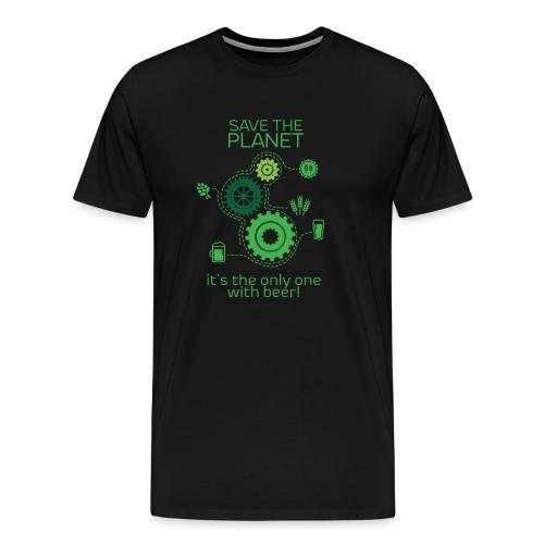 Save the planet - Men's Premium T-Shirt