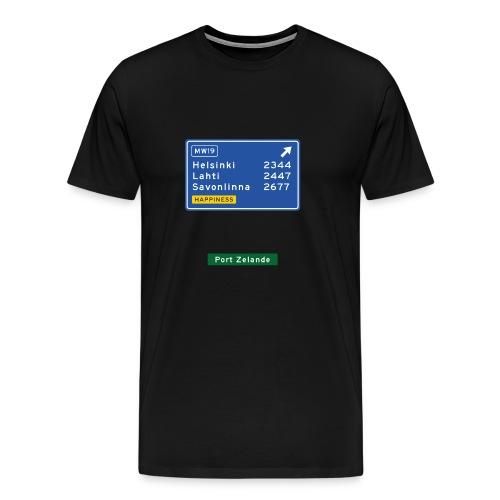 MW-front - Miesten premium t-paita
