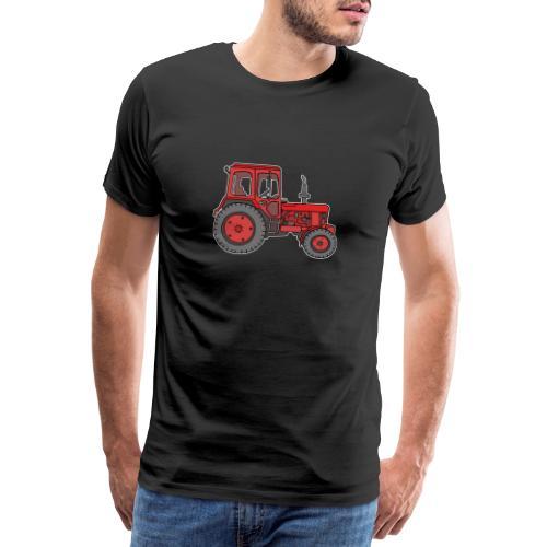 Roter Traktor / Trecker - Männer Premium T-Shirt
