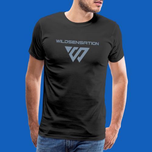 Logo Wildsensation - Männer Premium T-Shirt