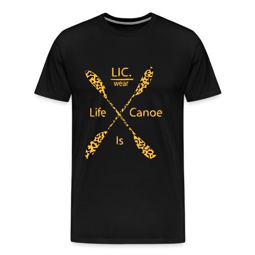 crossed peddel panter 1 - Men's Premium T-Shirt