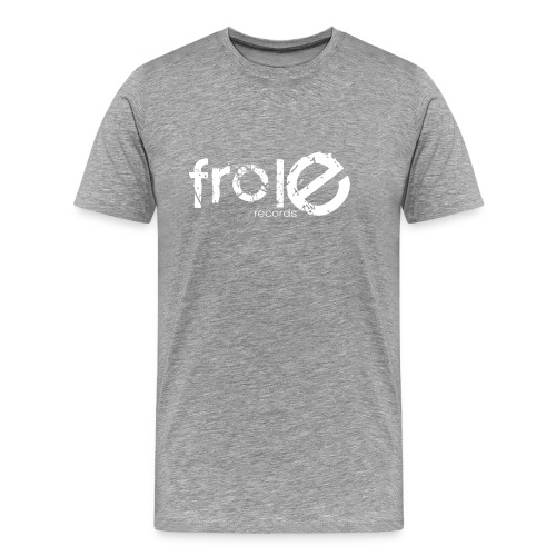 logo solo frole bianco png - Men's Premium T-Shirt