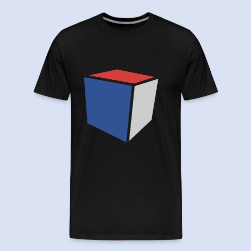 Cube Minimaliste - T-shirt Premium Homme