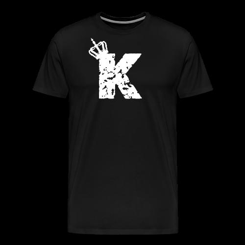 Kinzzyy White - Männer Premium T-Shirt