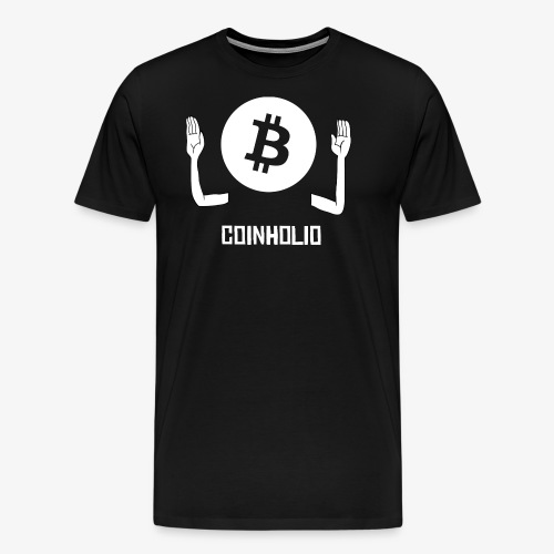 HODL coin holio-w - Men's Premium T-Shirt