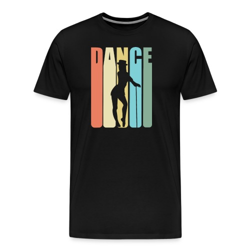 Tap Dancing Retro Design - Dance - Men's Premium T-Shirt