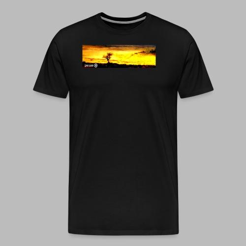 Burning Tree 2 - Men's Premium T-Shirt