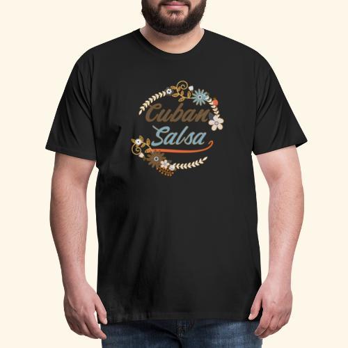 Cuban Salsa - Gift T-shirt for salsa dancers - Men's Premium T-Shirt