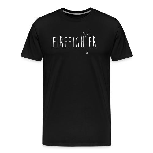 Firefighter Axt - Weiß - Männer Premium T-Shirt