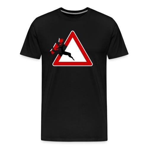 Breakout - Premium T-skjorte for menn