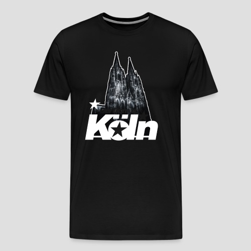Der Dom zu Köln - Männer Premium T-Shirt